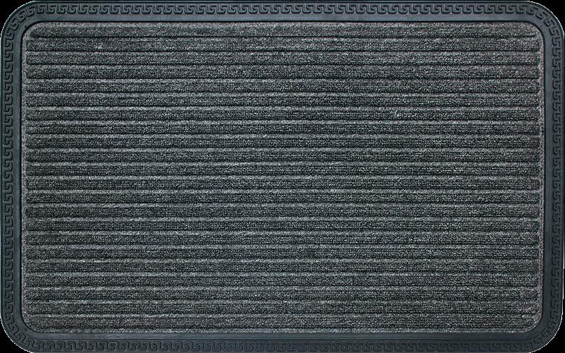 Zerbino da ingresso in gomma e fibra sintetica/cocco